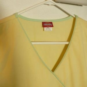 Dickie Tops - ❤️ NEW Dickie Yellow Medical Scrub Top Size Small